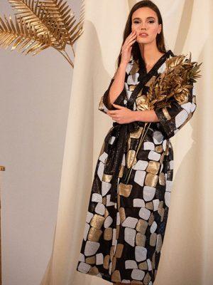 Agatha sequin kimono dress 2